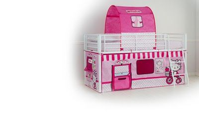 Hello Kitty Bunk Bed Play House Tent Design House Ideas
