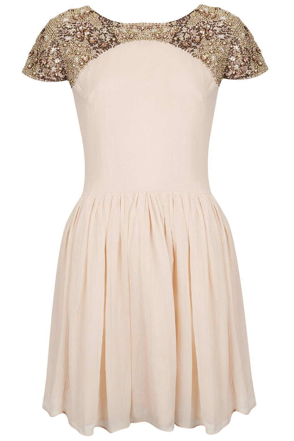 Embellished Shoulder Dress - New In This Week - New In - Topshop