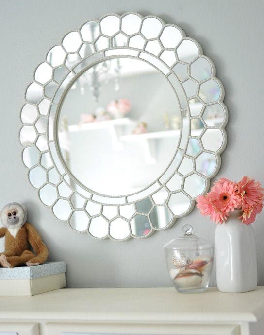 Girl\'s Room Dresser Redo | Bedroom Inspiration | Pottery barn mirror ...