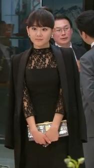 Black Lace Dress - 청담동앨리스