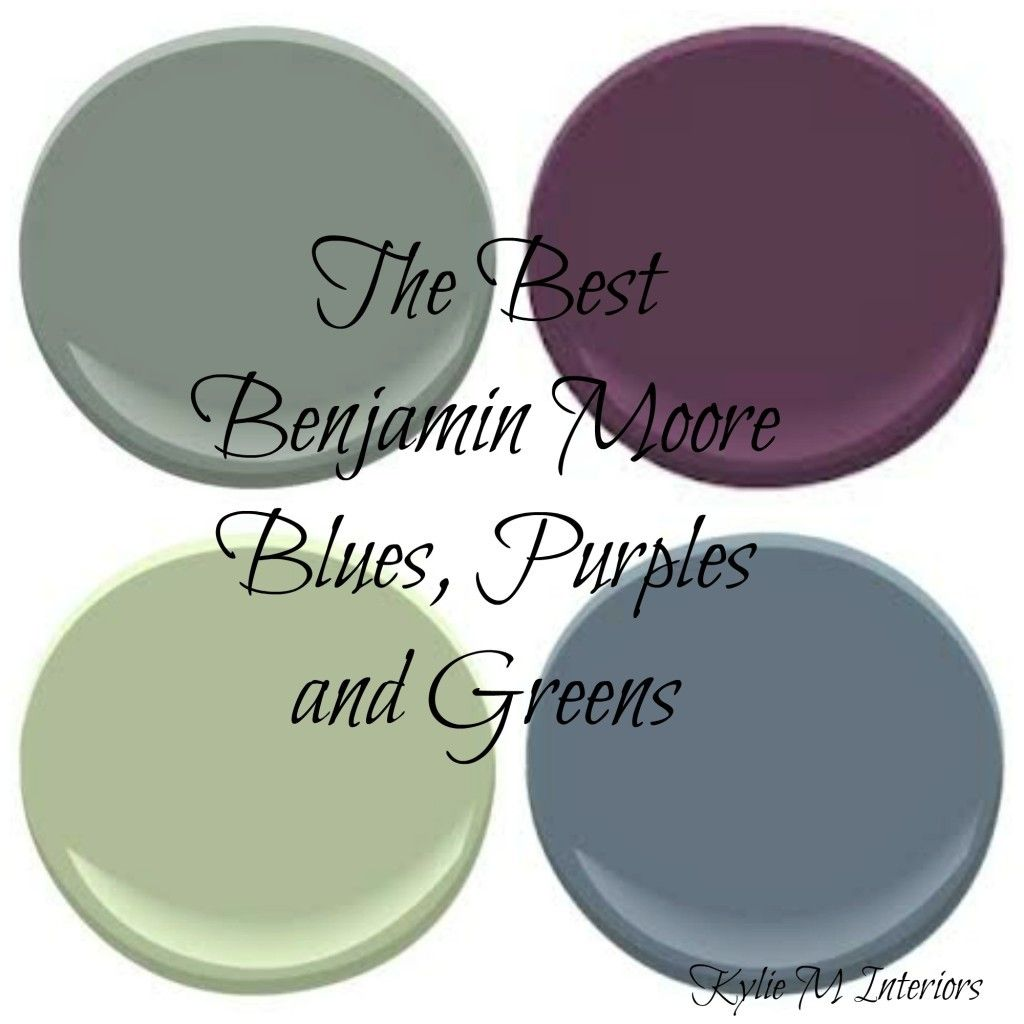 The Best Benjamin Moore Cool Colours - Most Popula