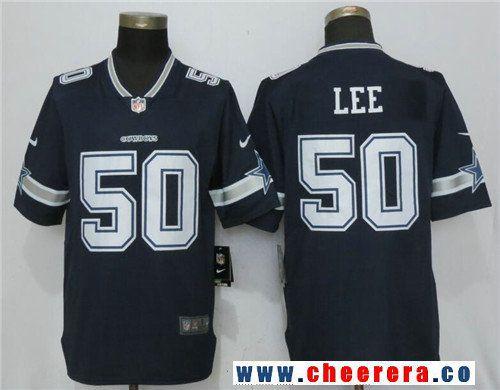 1fb6410c858 Men's Dallas Cowboys #50 Sean Lee Navy Blue 2017 Vapor Untouchable Stitched  NFL Nike Limited Jersey
