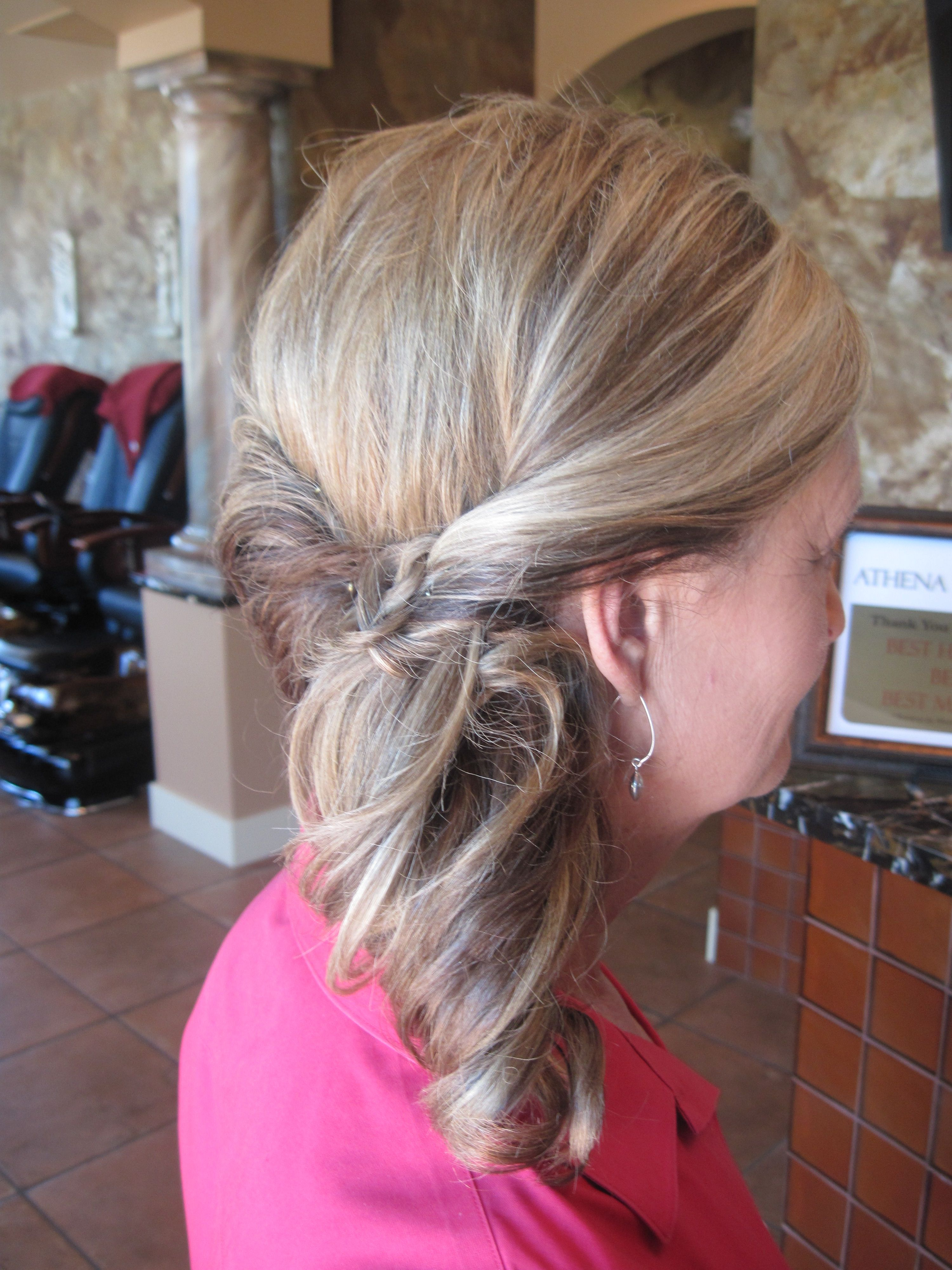 Side Ponytail Wedding Prom Athena Hair Salon Windsor Co Http