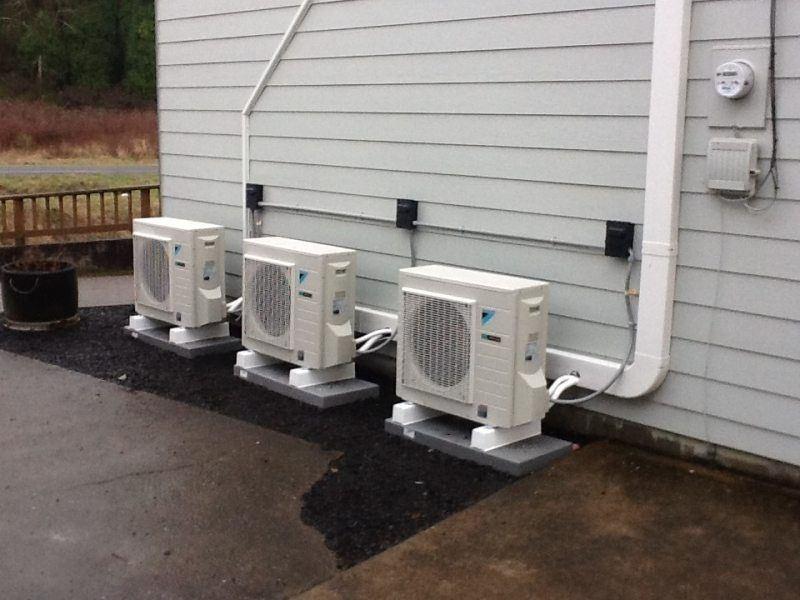 Ductless heat pumps are highly efficient heating and