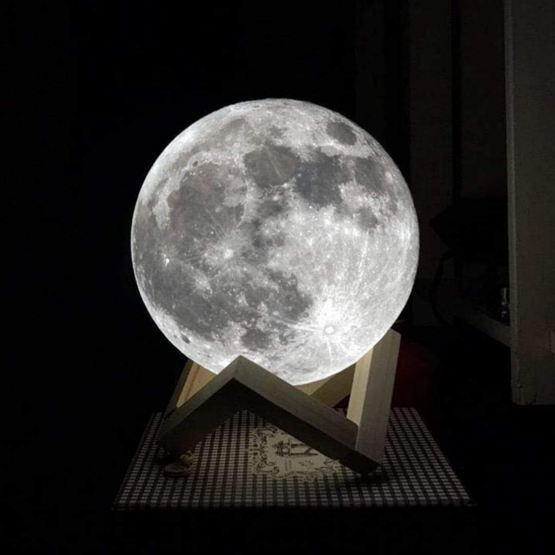 Moon Lamp Moon Light Lamp Meditation Room Decor