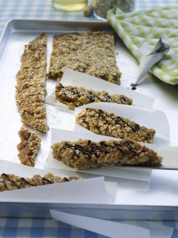 Crunchies Rezept Rezepte Musliriegel Rezept Herzhafte Snacks