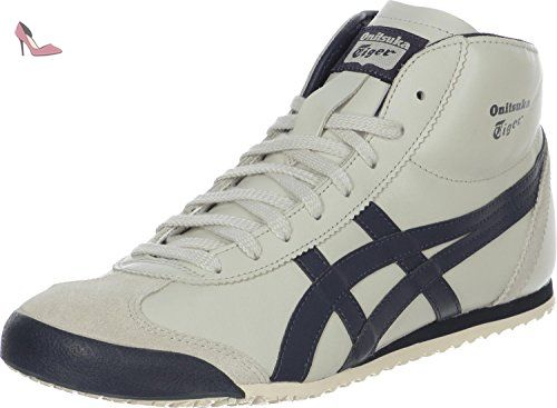 Asics Mexico 66 - Sneakers Basses - Homme - Muticolore (1205-10) - 40.5 EU