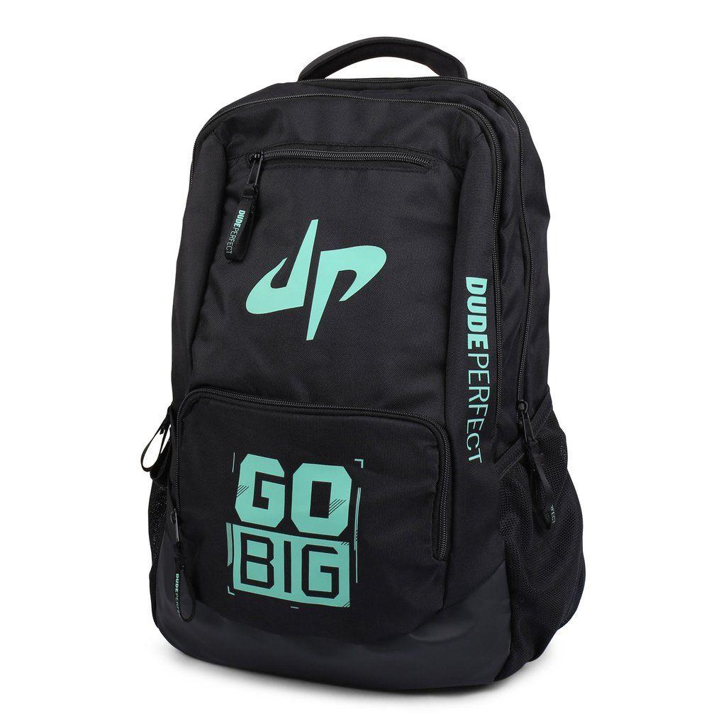 15b9b047f5e1 Dude Perfect Backpack // Black + Green | Awesome things i want ...