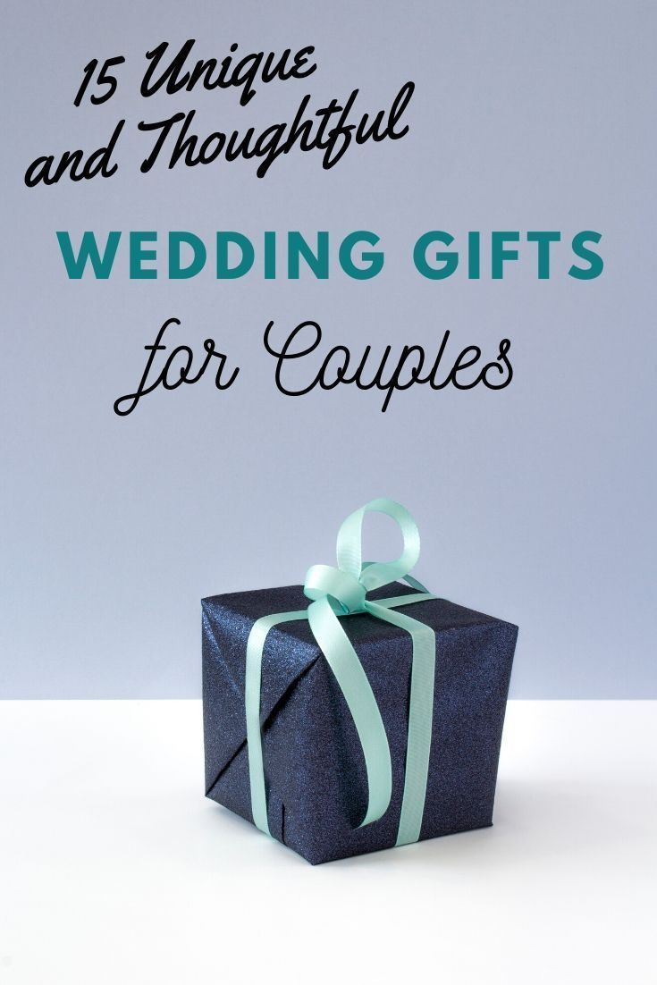 15 unique wedding gifts with wishes for couples in 2020