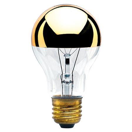 60 Watt A19 Gold Crown Medium Base Bulb