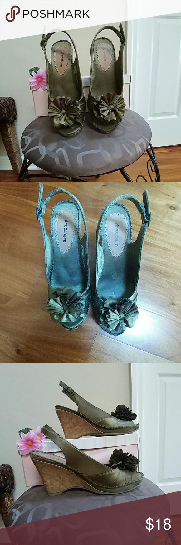 Heels for dark green dress  Dress Barn Shoes  My Posh Closet  Pinterest