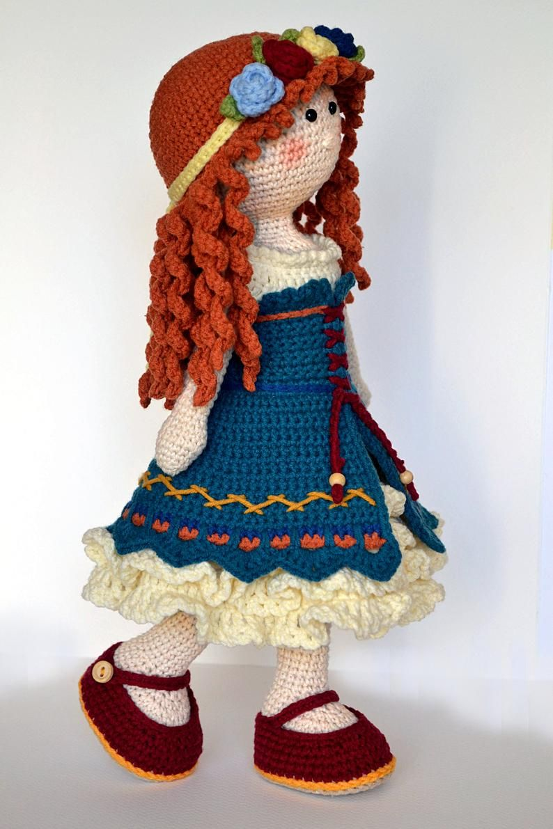 20+ FREE Crochet Doll Patterns (Free Crochet Patterns and ... | 1191x794