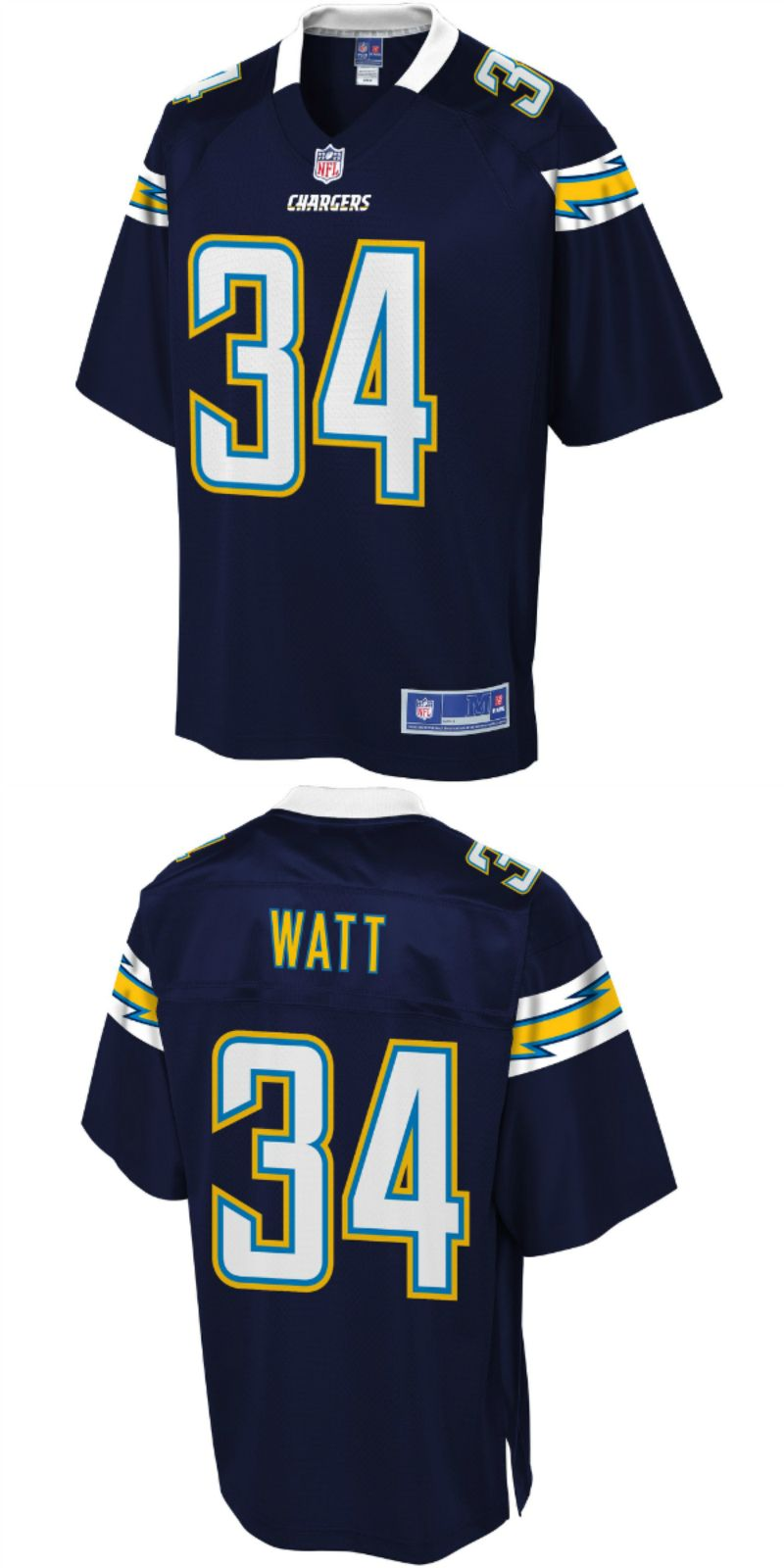 outlet store a3edc 64947 Derek Watt Los Angeles Chargers Football Jersey | NFL LOS ...