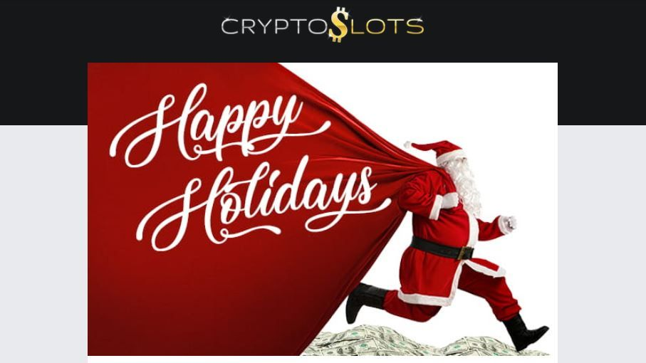 CryptoSlots casino Xmas bonus offers and welcome bonuses