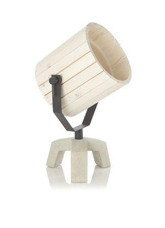 New Duivendrecht Barrel Lamp hout • de Bijenkorf