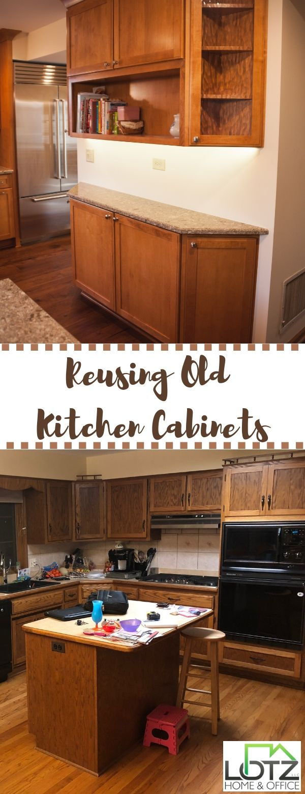 Why Not Recoup Some Of Your Investment Any Time You Upgrade Your Kitchen By Reusing Old Kitchen Cabinets And Old Kitchen Cabinets Old Kitchen Kitchen Cabinets