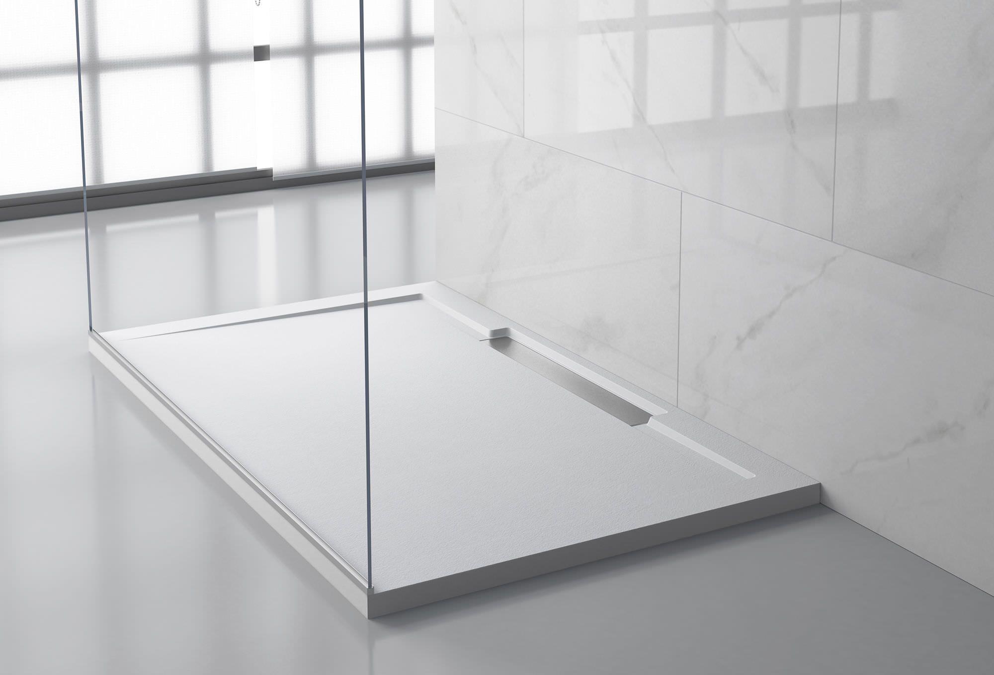 Rectangular shower base acrylic custom LINE Y HIDROBOX