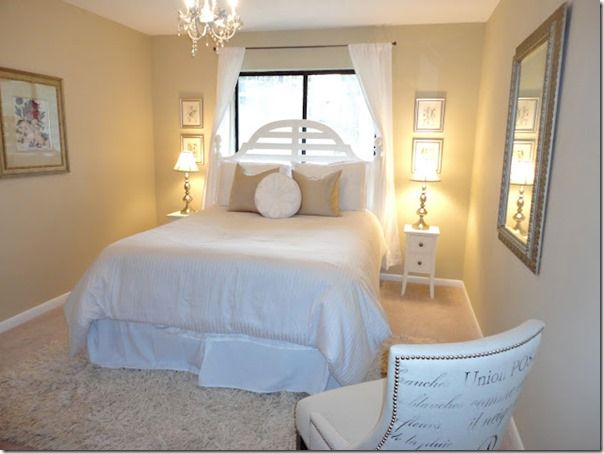 18 Beautiful Bedrooms That Inspire Home Decor Ideas Small Guest Bedroom Guest Bedroom Makeover Guest Bedroom Decor