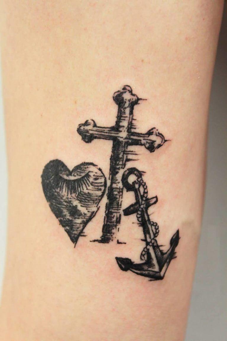 26 Faith Hope Love Tattoo DesignsIdeas and Symbols
