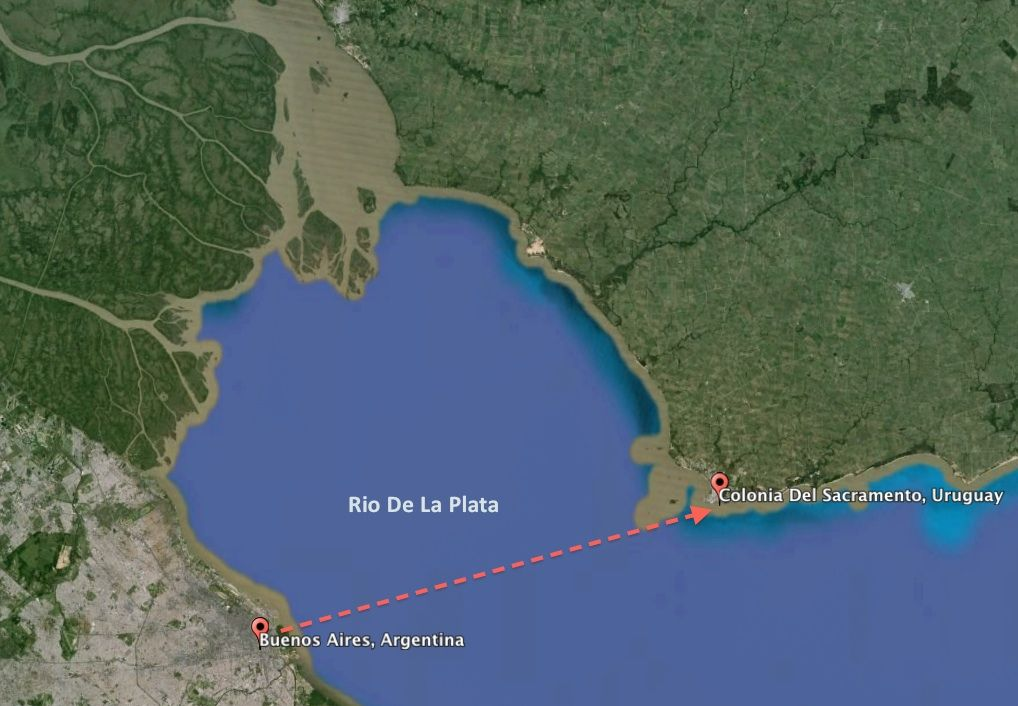 An Epic Day Trip From Buenos Aires To Colonia Del Sacramento In Uruguay Trip Day Trip Buenos Aires