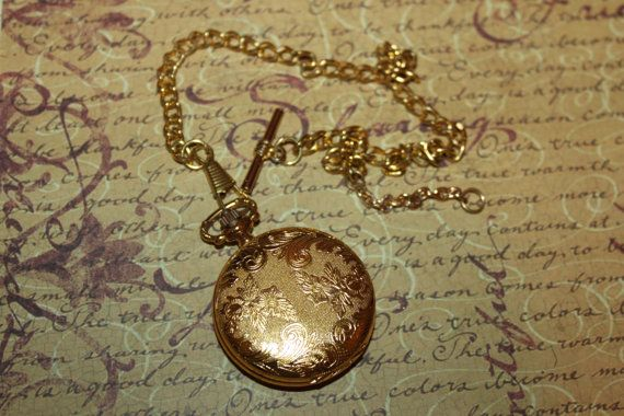 Vintage Ciprini Ladies' Pocket Watch & Chain by ThePickerGirl, $35.00