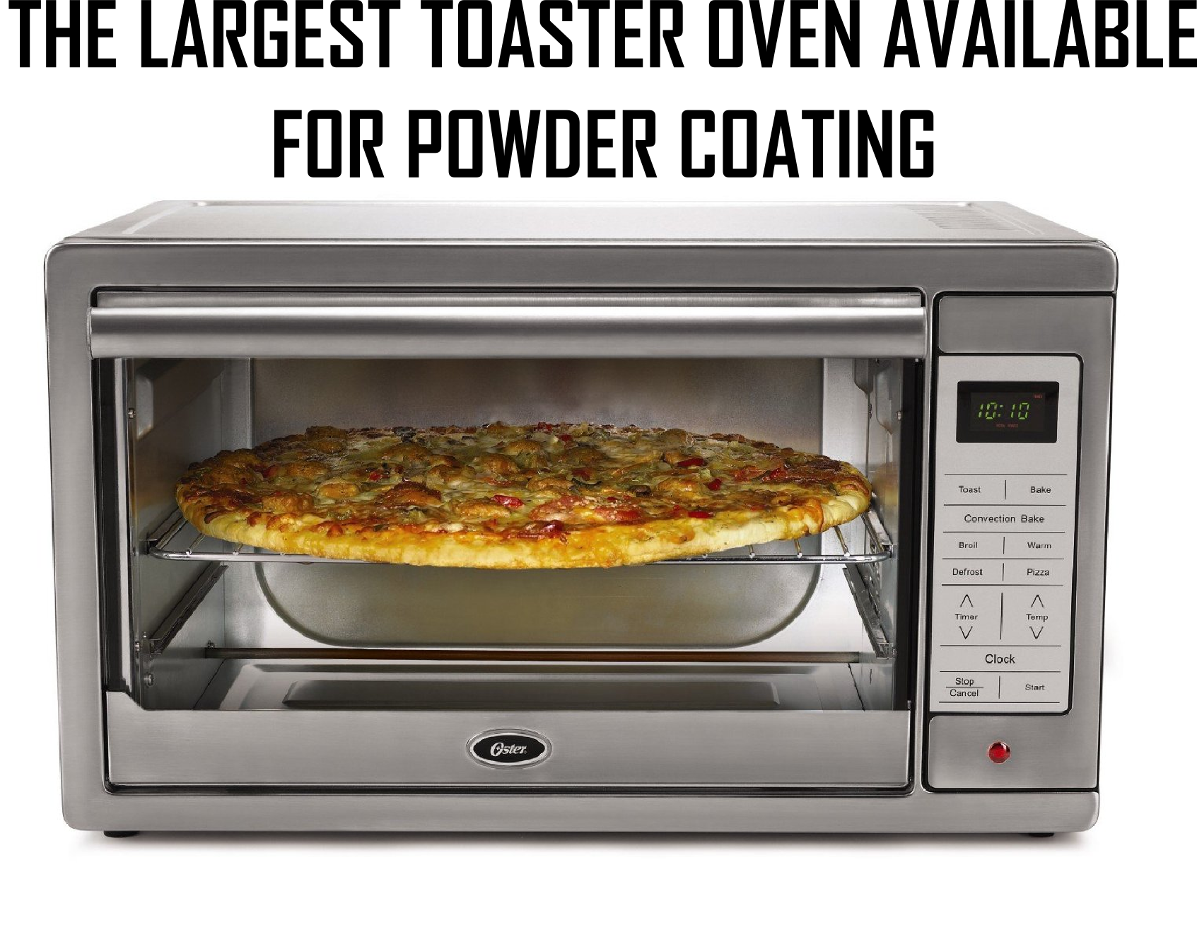 Powder Coating Ovens Stainless Steel Oven Toaster Oven Digital