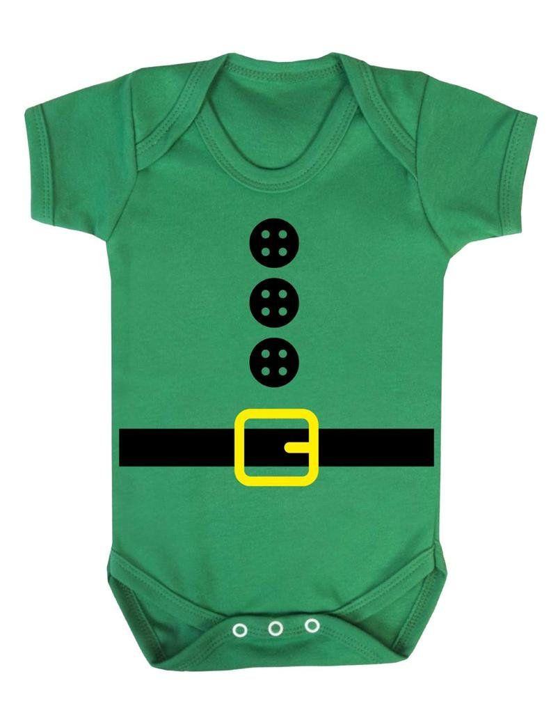Cutest Little Elf Baby Vest Baby Grow 100/% Cotton Boys Girls Bodys