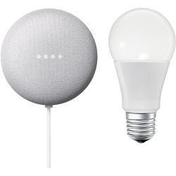 Google Nest Mini & Osram Smart+ Set 12 (Rock Candy)Bauhaus.info #googlehomemini