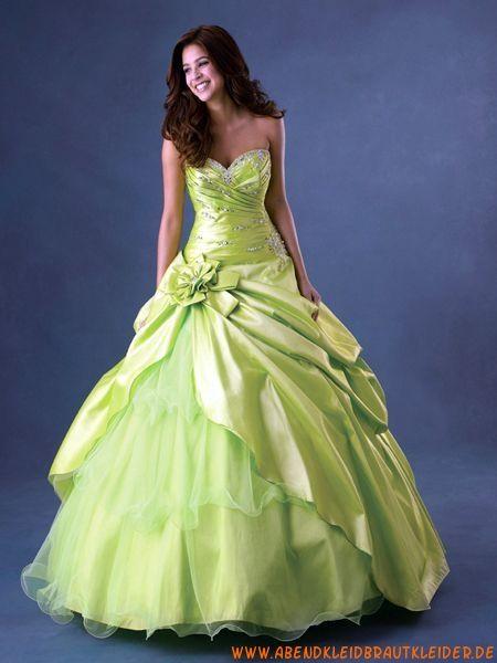 2013 Elegante luxuriöse Abendkleider Ballkleider aus Taft ...