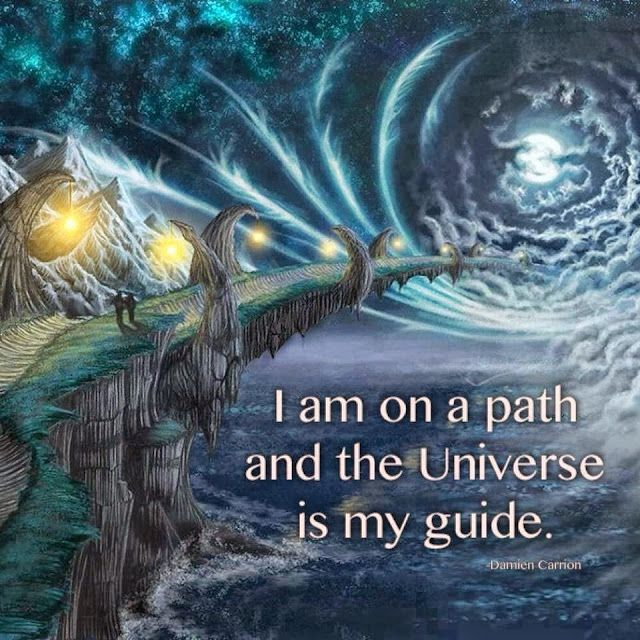 Pin By Soul Journey On Knowledge: I Am On A Path And The Universe Is My Guide