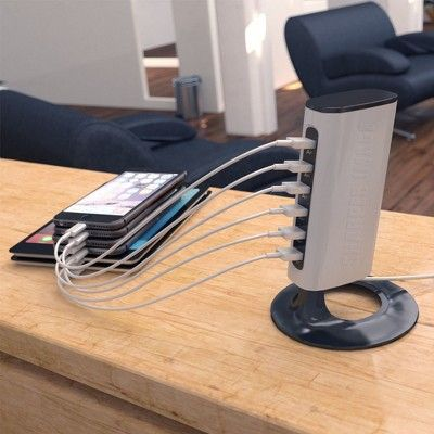 Charging Stations White Sharper Image In 2018 Products