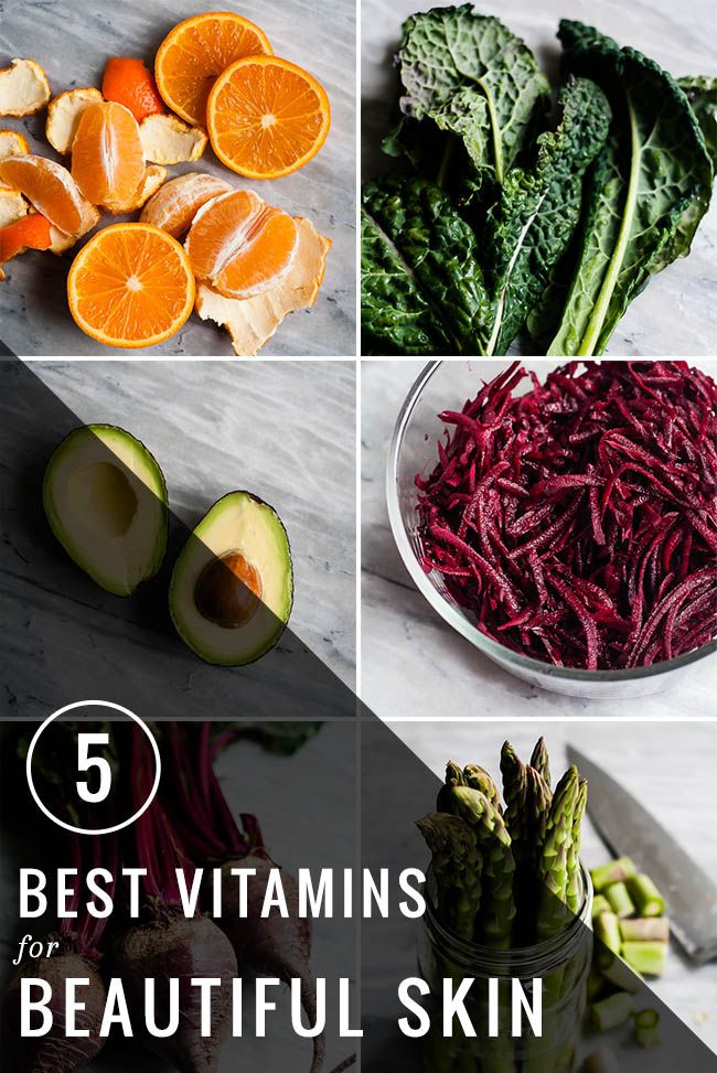 The 5 Best Vitamins For Beautiful Skin   http://hellonatural.co/vitamins-for-skin/