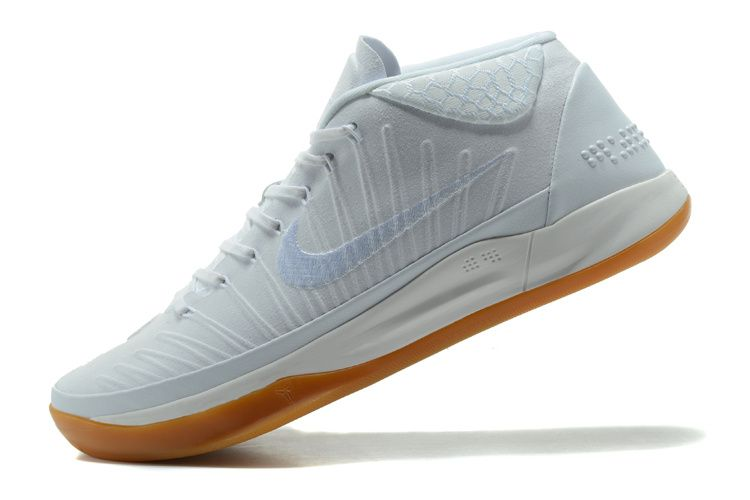 best sneakers 4e616 8d68b 2017-2018 Newest And Cheapest Nike Kobe AD Mid White Gum Brown