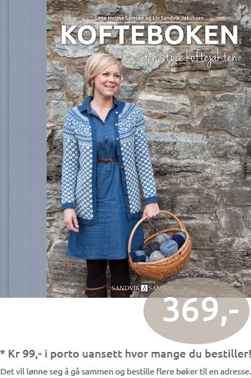 The book of Norwegian hand-knitted jackets, Kofteboken - Den store Koftejakten