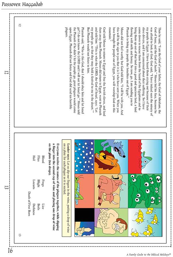 Printable Messianic Ebook 10 Plaques Page This Haggadah Is