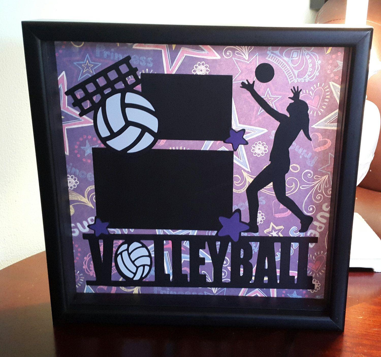 12x12 Shadow Box Frame Volleyball Shadow Box Frames Shadow Box Frame