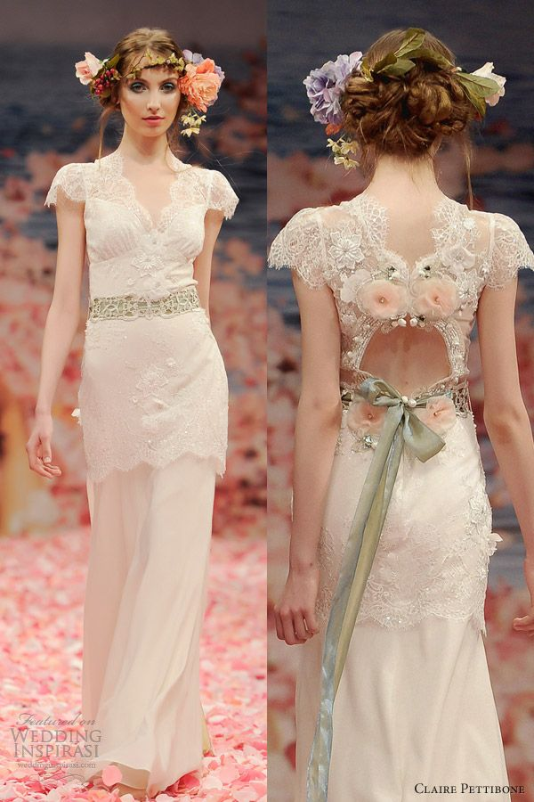 Claire Pettibone Spring 2013 Bridal Collection Wedding Inspirasi Page 2 Best Wedding Dresses Wedding Dresses A Line Wedding Dress