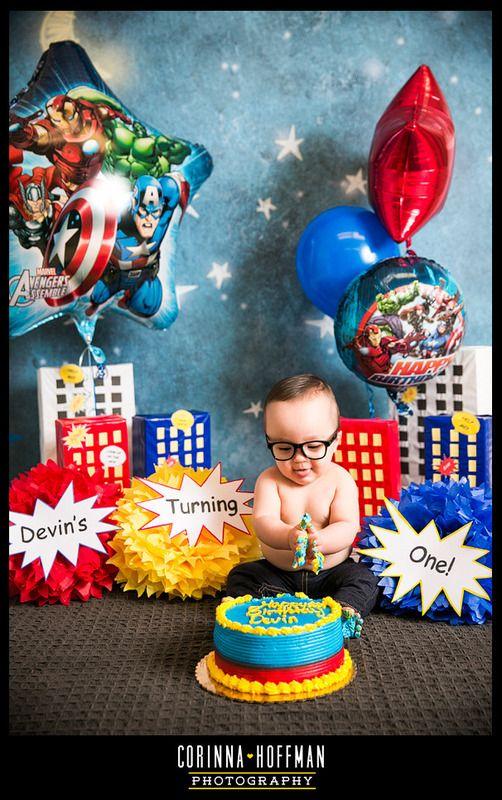 Superhero First Birthday Party Parties Birthdays Jacksonville Florida