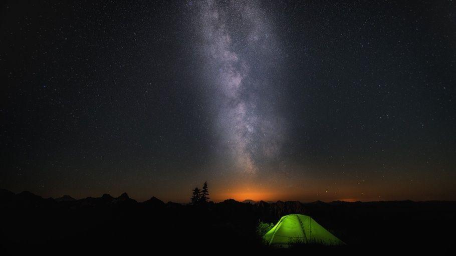 Star Skyline Tent Rest Windows 10 Microsoft Win 10 Win10 Win10 Backgrounds Windows 10 Backgrounds Star Skyline Tent Hd