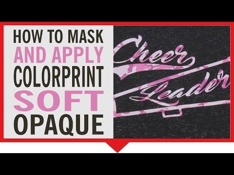 df73d8c1 How to Mask and Apply Siser ColorPrint Soft Opaque - YouTube ...