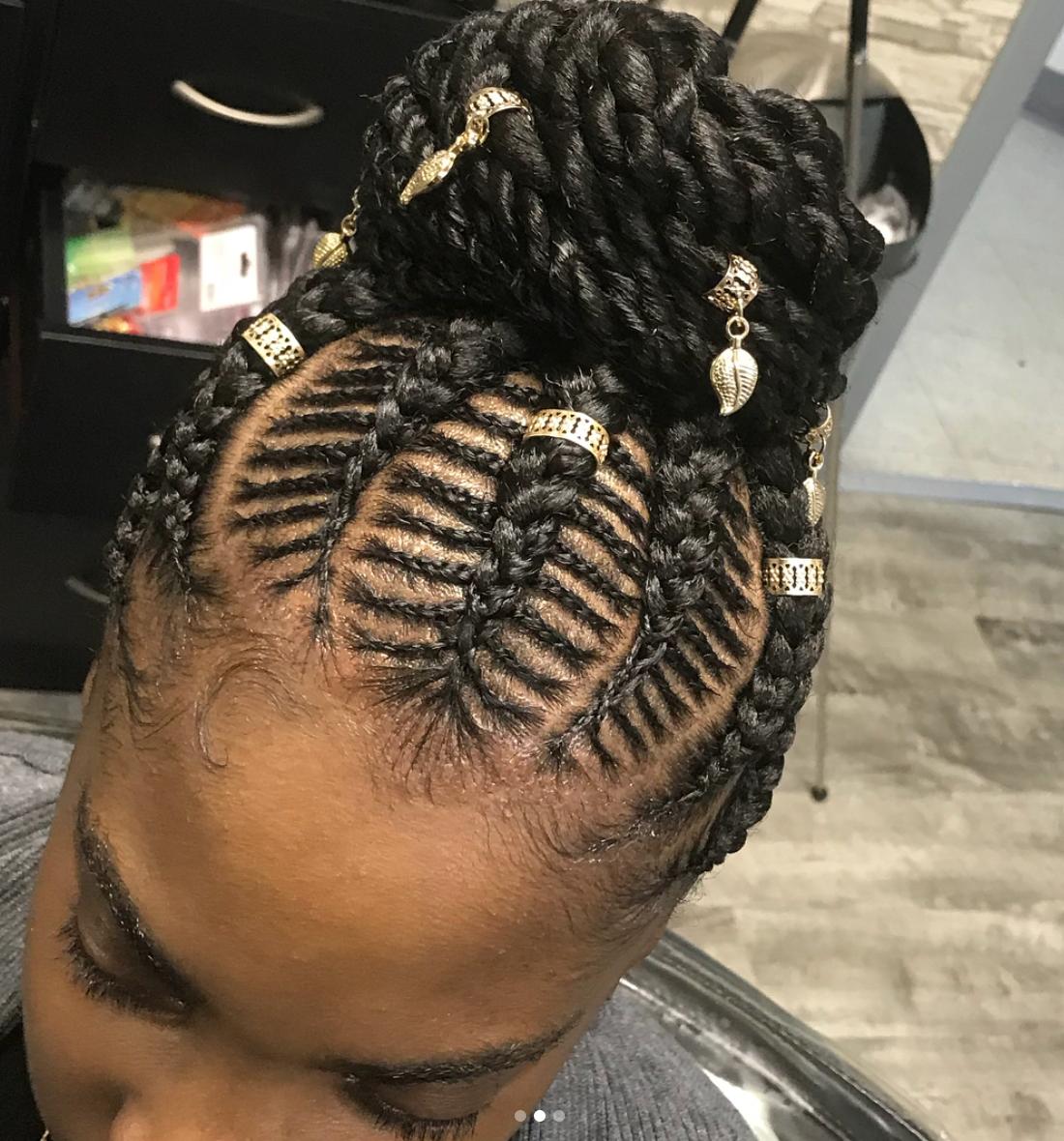 30 Beautiful Fishbone Braid Hairstyles For Black Women Hair Styles Kids Braided Hairstyles Braided Hairstyles For Black Women