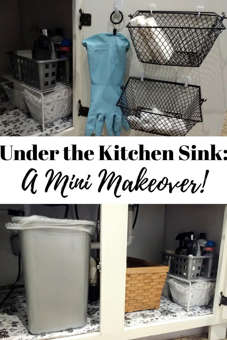 Organize Under The Kitchen Sink Dollar Tree Kitchen Cabinet