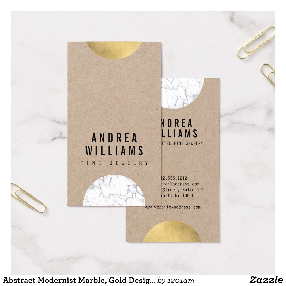 Abstract Modernist Marble, Gold Designer Business Card | Business ...