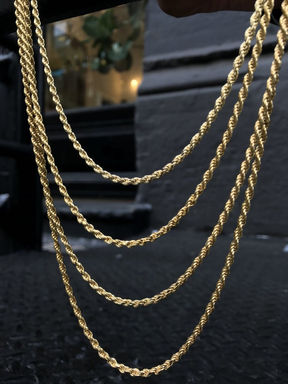 e090f064883c9 2.5MM Rope Chain - Vermeil | Gold X | Chain, Jewelry