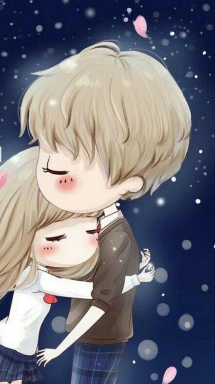 Pin By Indah Anisari On Cute Cute Couple Wallpaper Cute Baby Couple Cute Cartoon Wallpapers