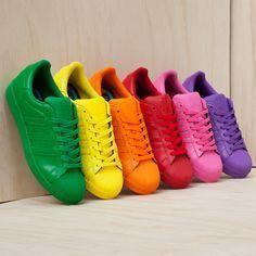 adidas arcobaleno scarpe superstars