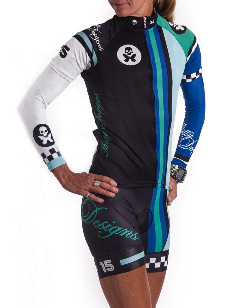 Betty Designs New Retro Cycle Jersey! I must have this!