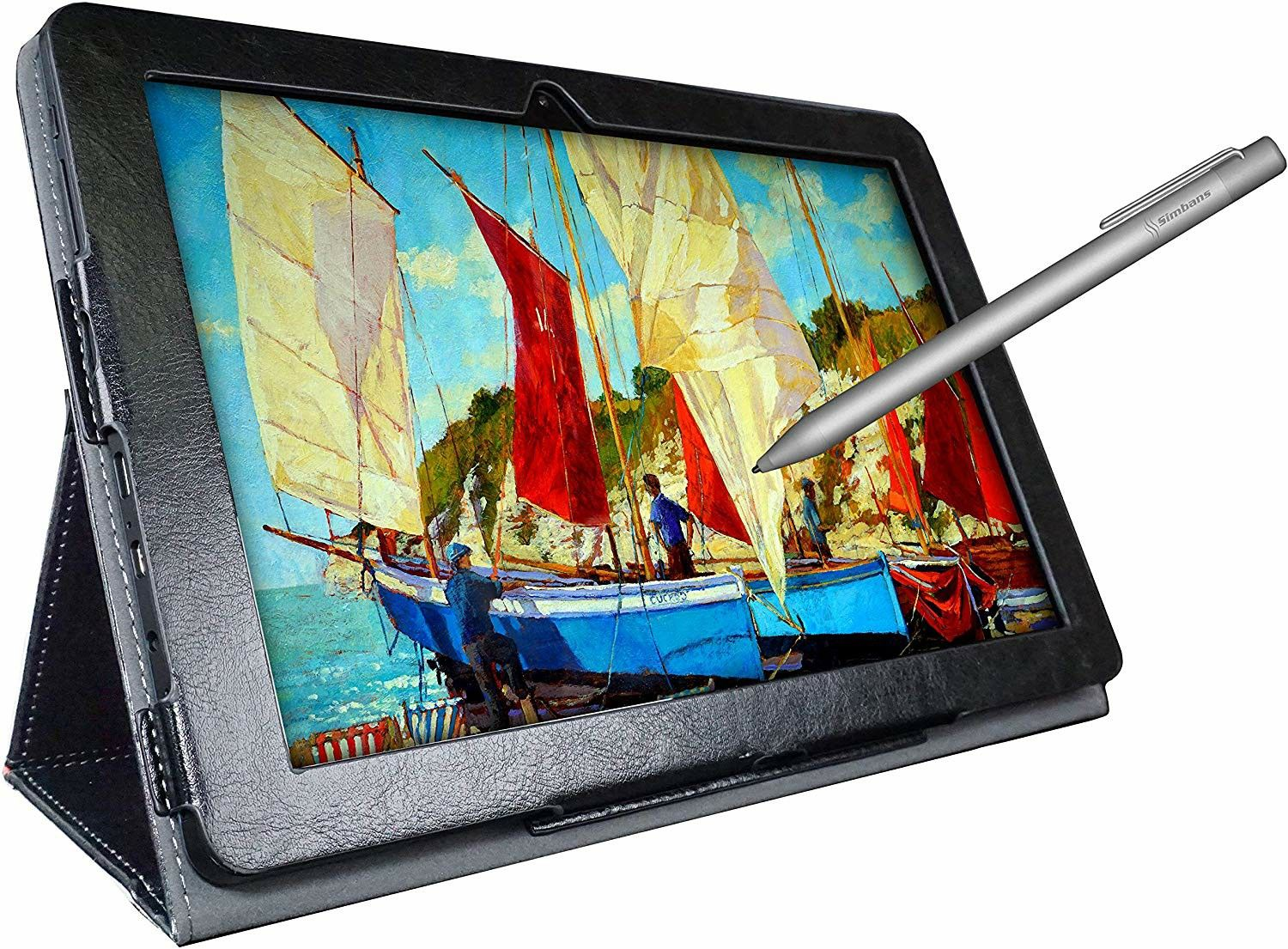 3 Bonus Items Simbans Picassotab 10 Inch Drawing Tablet And