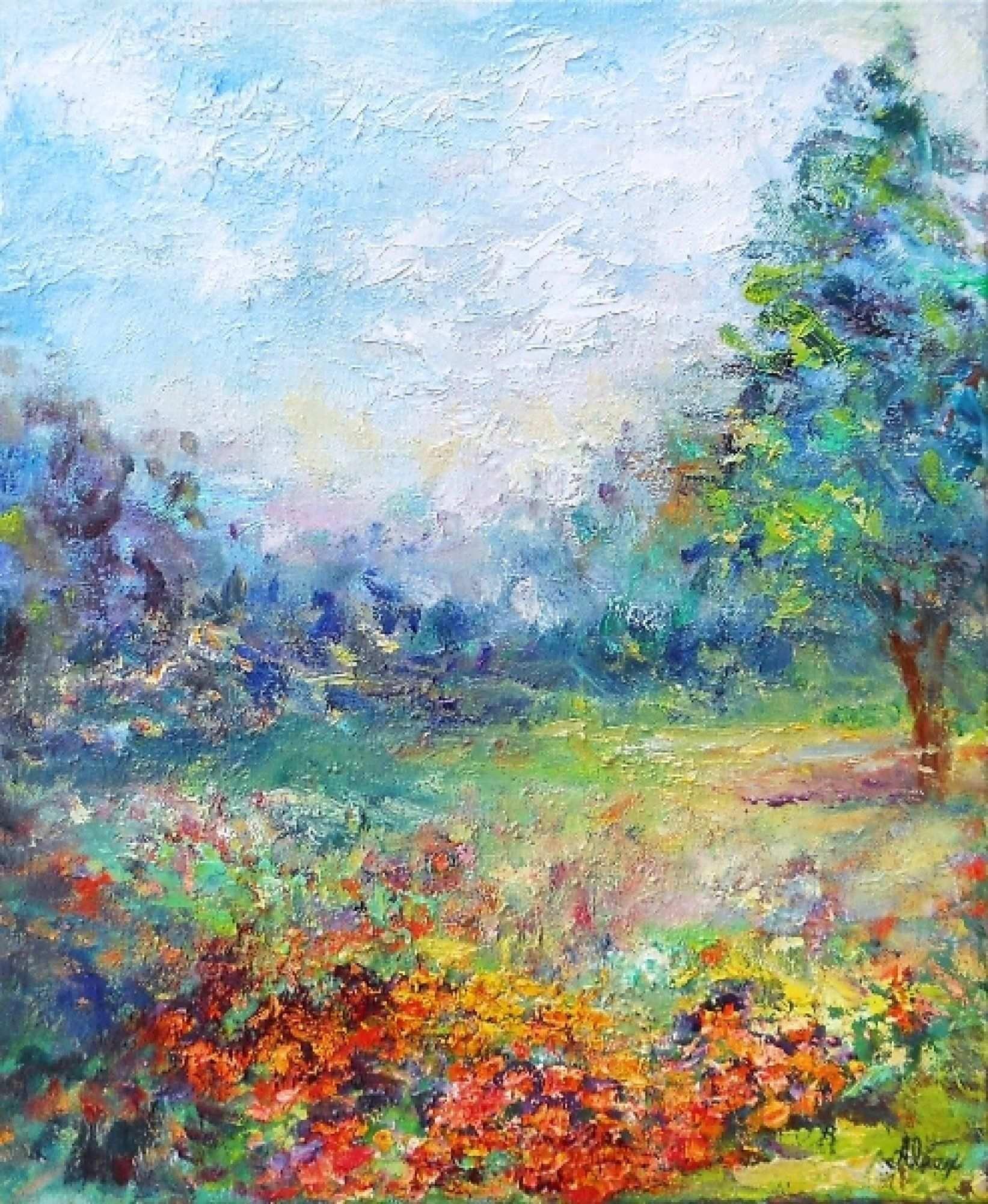 Impressionist Oil Painting : impressionist, painting, Impressionist, Painting, Painting,, Paintings,, Landscape, Paintings