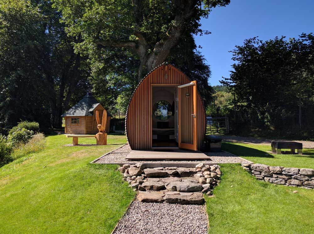 HIGHLANDS AND ISLANDS GLAMPING Glamping holidays
